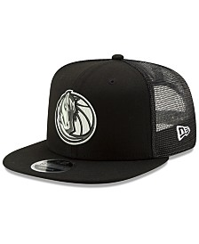 New Era Dallas Mavericks Dub Fresh Trucker 9FIFTY Snapback Cap