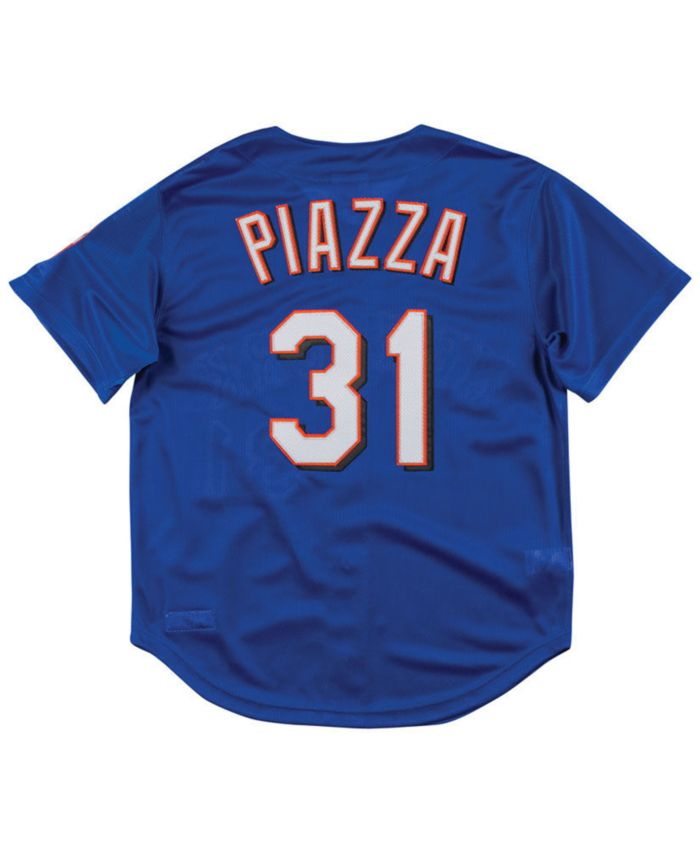 Mitchell & Ness Men's Mike Piazza New York Mets Authentic Mesh Batting Practice V-Neck Jersey & Reviews - Sports Fan Shop By Lids - Men - Macy's
