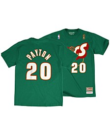 Big Boys Gary Payton Seattle SuperSonics Hardwood Classic Player T-Shirt