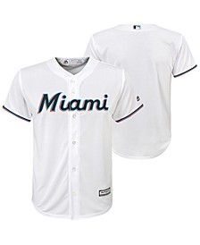 Big Boys Miami Marlins Blank Replica Jersey