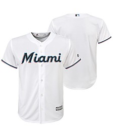 Majestic Big Boys Miami Marlins Blank Replica Jersey