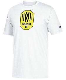 adidas Big Boys Nashville SC Locker Stacked T-Shirt