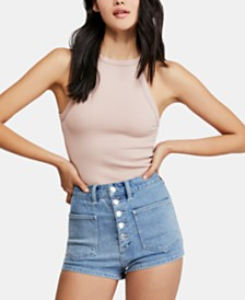Free People Wide Ribbed Seamless Camisole