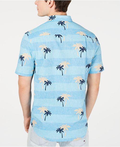 motif Chemises hommes Clubcree pourCritiques lin pour de palmiers la chambre a Turquoise Chemise Hommes de en Cosmic wlOXPkiuZT