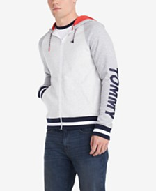 Tommy Hilfiger Denim Men's Magic Regular-Fit Colorblocked Logo Hoodie