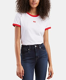 Levi's® Perfect Ringer Cotton Graphic T-Shirt