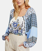 0fdc952cb575a5 Free People Positano Printed Peasant Top. 3 colors