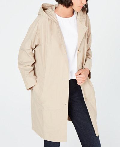 Eileen Fisher Hooded Jacket
