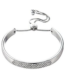 Bracelet with Center Glass Accents