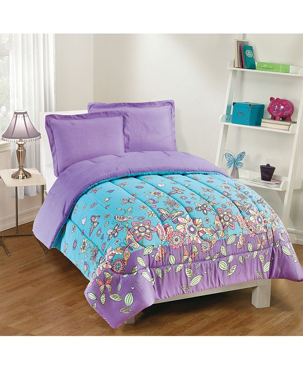 Gizmo Kids Butterfly Dreams 2-Piece Comforter Set, Twin