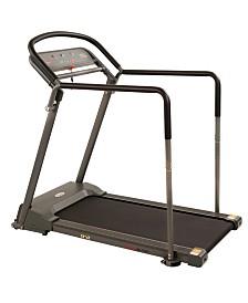 Sunny Health and Fitness Walking Treadmill with Handrail