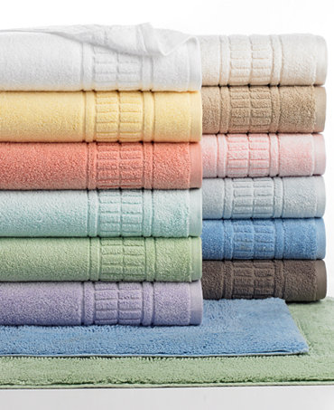 Martha Stewart Collection Plush Bath Towel Collection Bath Towels Bed Bath Macy 39 S