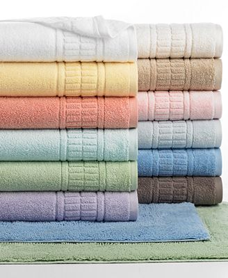 CLOSEOUT! Martha Stewart Collection Plush Bath Towel Collection, 100% Cotton, Created for Macy's