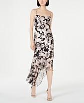 182921ffa57 Adrianna Papell Embellished Asymmetrical Dress