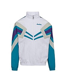 Men's MVB Logo Taped Track Jacket