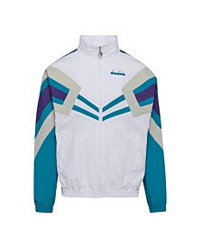 Diadora Men's MVB Logo Taped Track Jacket