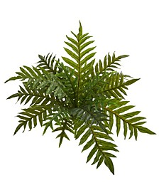 "23"" Hares Foot Fern Bush Artificial Plant (Set of 3) (Real Touch)"