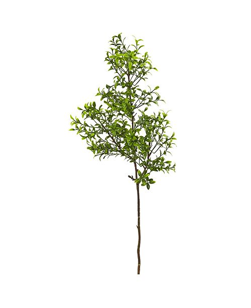 "Nearly Natural 23"" Boxwood Spray Artificial Plant (Set of 12)"