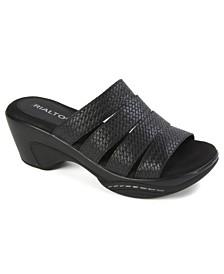 Rialto Valora Casual Slide Sandals
