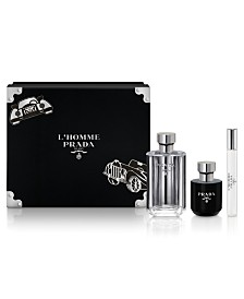 Prada Men's 3-Pc. L'Homme Eau de Toilette Gift Set