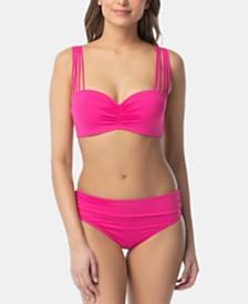 Coco Reef Bra-Sized Convertible Underwire Bikini Top & Impulse Bikini Bottoms