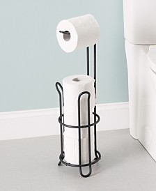 Home Basics Onyx Toilet Paper Holder