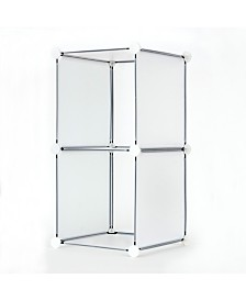2 Cube DIY Modular Storage Unit