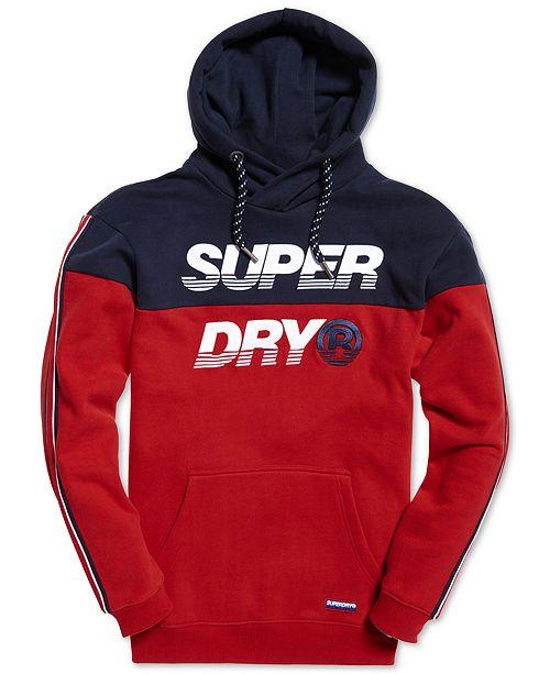 Superdry Men's Colorblocked Logo Hoodie