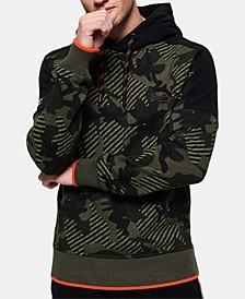 Men's Textured Camo Hoodie