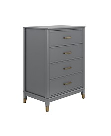 CosmoLiving by Cosmopolitan  Westerleigh 4 Drawer Dresser