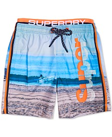 Superdry Men's Scenic Volley Swim Shorts