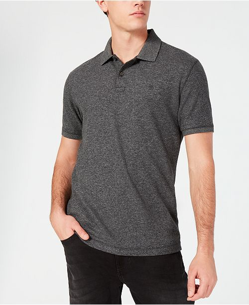 DKNY Men's Solid Polo Shirt