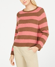 Weekend Max Mara Calamo Striped Raglan-Sleeve Sweater