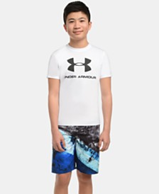 Under Armour Big Boys Relm Printed Volley Swim Trunks
