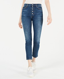 Citizens of Humanity Olivia Button-Fly Skinny Jeans