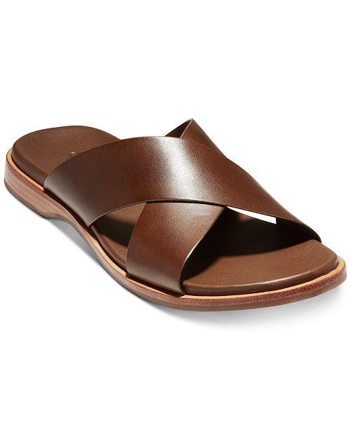 Cole Haan Men's Goldwyn 2.0 Cross Band Sandals