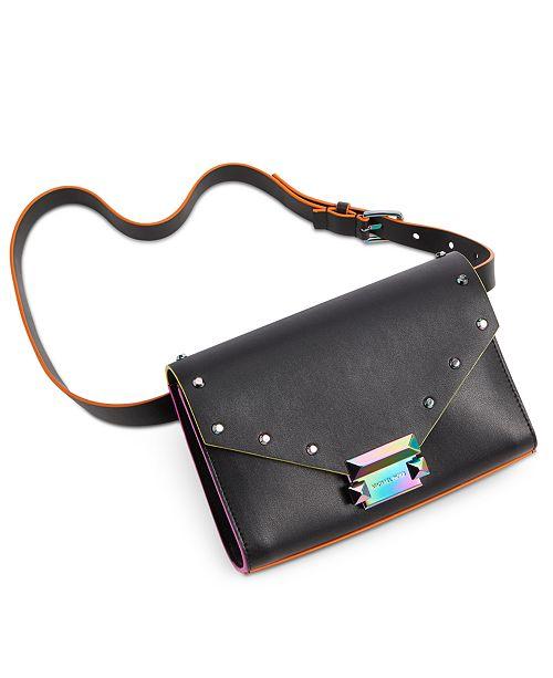 Michael Kors Neon & Oil-Slick Belt Bag