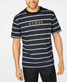 6a149474b111 GUESS Originals Men s Striped Logo T-Shirt