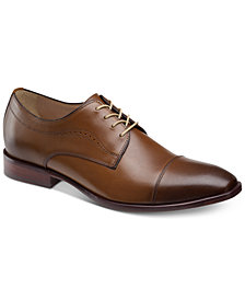 Johnston & Murphy Men's McClain Cap-Toe Oxfords
