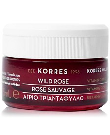 KORRES Wild Rose Vitamin C Brightening Eye Cream, 0.5-oz.