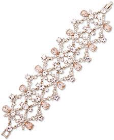 Givenchy Gold-Tone Crystal Statement Flex Bracelet