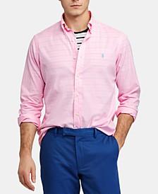 Men's Slim Fit Garment-Dyed Twill Shirt