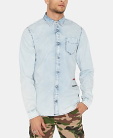 Buffalo David Bitton Men's Somtev Shirt