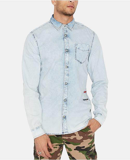 Buffalo David Bitton Men's Somtev Shirt