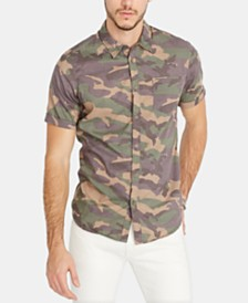 Buffalo David Bitton Men's Sopav Camo Shirt
