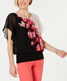 5bc31ea93 JM Collection Womens Tops - Macy's