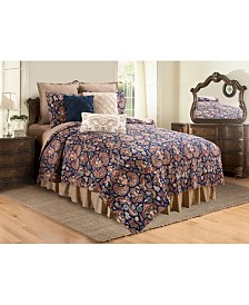 Rosamund Damask Full Queen Quilt Set