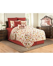 Watercolor Sketches King Quilt Set