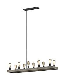 Avenir 10-Light Linear Chandelier