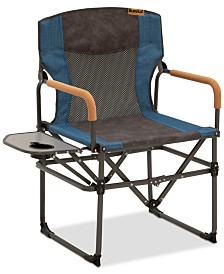 Eureka Folding Director's Chair with Side Table from Eastern Mountain Sports